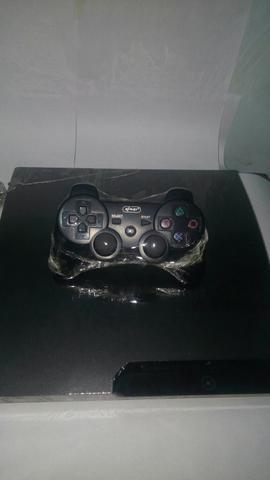Playstation 3 cm 4 jogos oportunidade