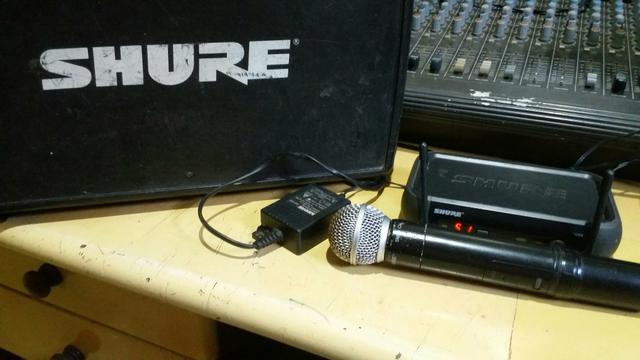 Vendo microfone sem fio shure