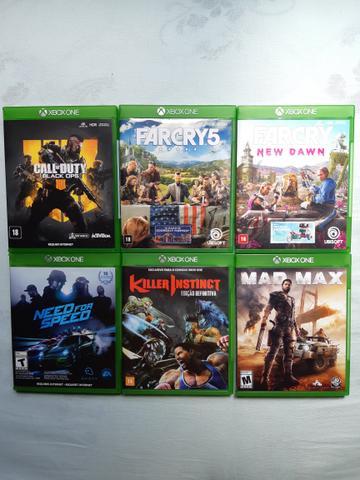 Vendo ou Troco Jogos de Xbox One S Semi Novos Funcionando