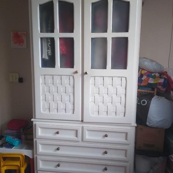 armário duas portas madeira