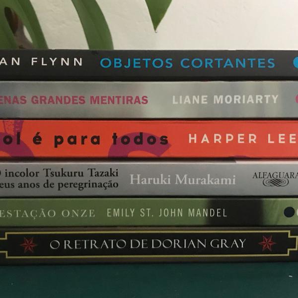 combo best sellers, 6 livros literatura estrangeira !