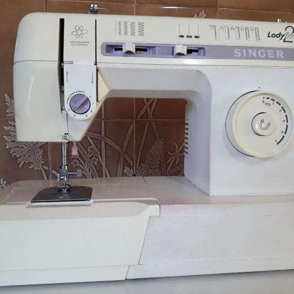 máquina de costura singer ladystar20 - 220v eletrônica