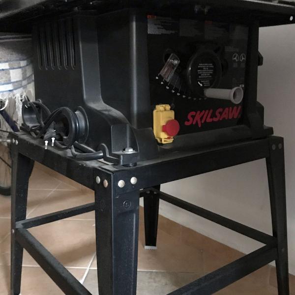 serra circular de bancada skilsaw 3610 1600 w