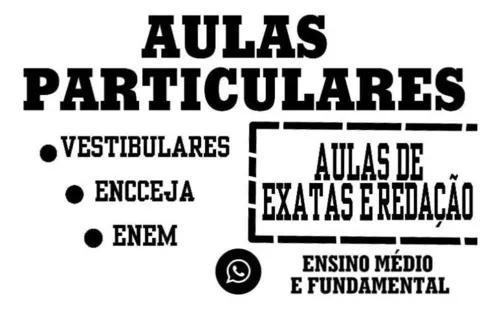 Aulas Particulares Para Ensino Médio E Fundamental