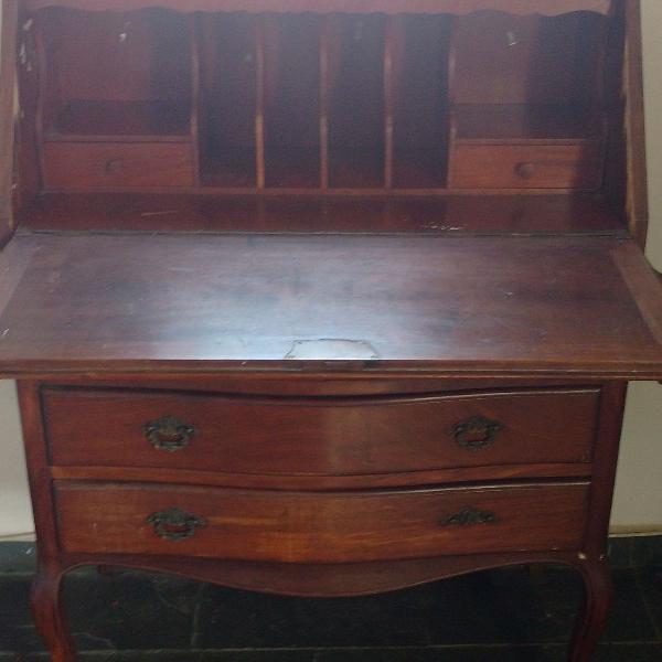 Escrivaninha Antiga em Madeira