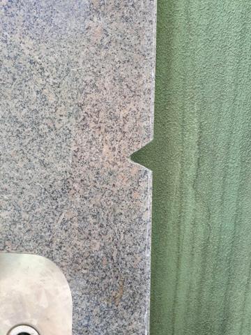Pia de granito 1.80 metros