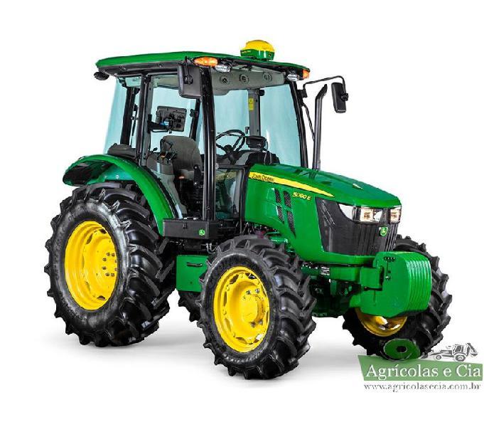 Trator John Deere 5080 E 4x4 (Top De Linhas - 0 KM!)