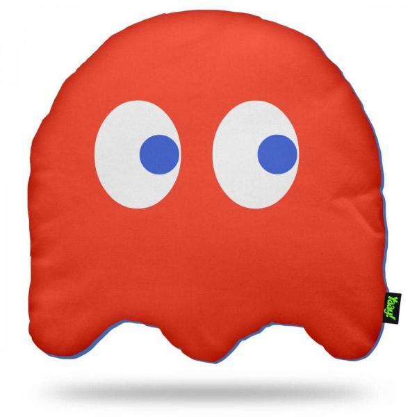 almofada pac man ghost - 40 x 40 cm