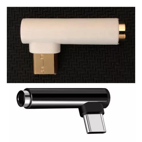 Adaptador Tipo C X P2 90 Graus Fone De Ouvido Xiaomi Mi A2