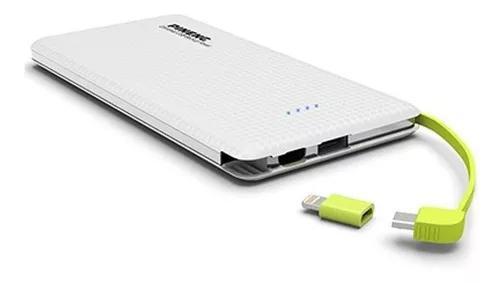 Bateria Portátil Externa Pineng Pn951 10000 Mah Branca