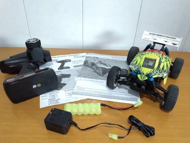 Carro de controle remoto elétrico Himoto Exb-16