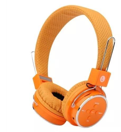 Fone De Ouvido Headphone Bluetooth Stereo Usb Radio Fm