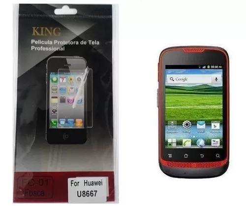 Kit 05 Películas Protetora De Tela Para Huawei U8667 Nextel