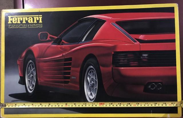 Kit Plástico Fujimi - Ferrari Testarossa 1/16