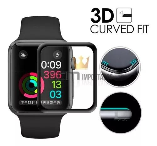 Película De Gel Para Apple Watch E Iwo8 Plus Iwo9 38mm 40mm