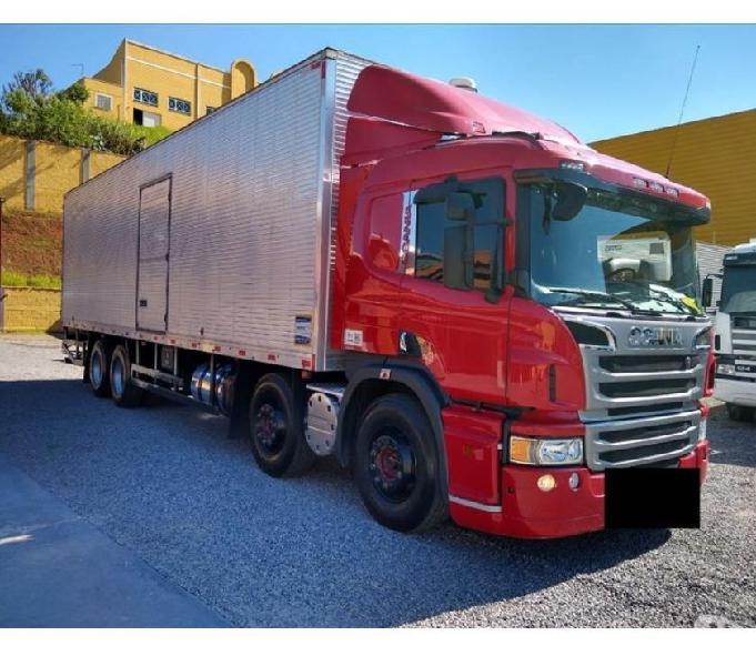 Scania P310 Bitruck 2018 Com baú