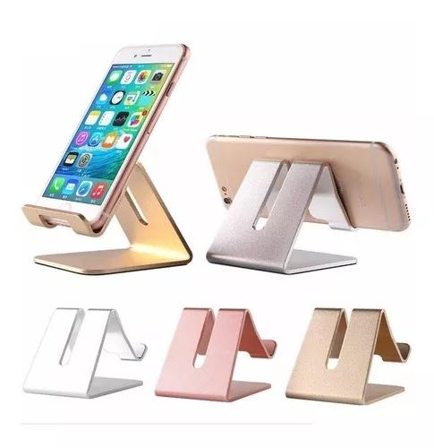 Suporte De Mesa Para Celular Tablet Alumínio Varias Cores