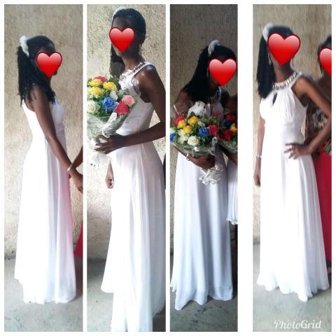 Alugo Vestindo Branco de Casamento, Madrinha e formatura