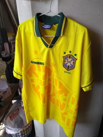 Camisa seleção Brasil copa de 94 N G
