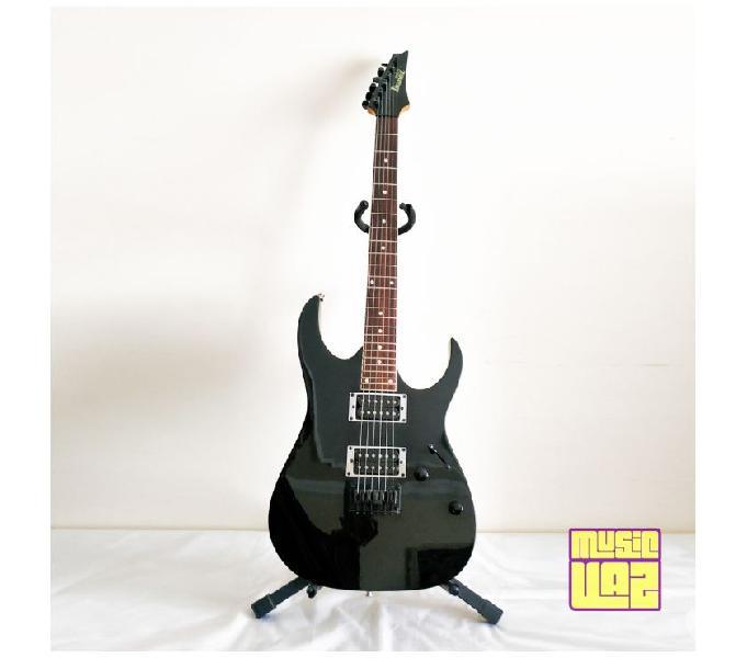 Guitarra Ibanez Gio GRG121 Preta Ponte Fixa 24 Casas
