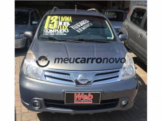 NISSAN LIVINA GRAND SL 1.8 16V FLEX FUEL AUT. 2012/2013