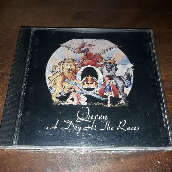 cd queen - a day at the races (1976) - complete sua