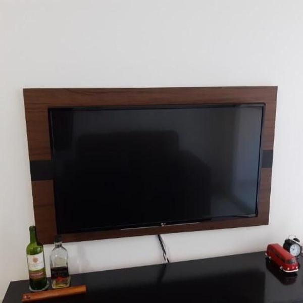 "smart tv lg webos 3.0 led 43"" ultra hd 4k com suporte"