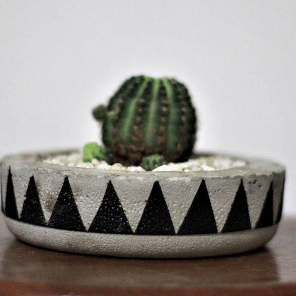 """vaso """"begônia"""" 4cm"""