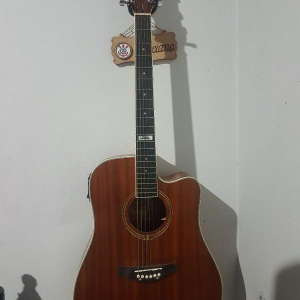 violão tagima kansas elétrico + brindes