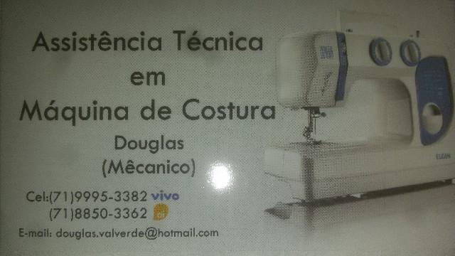 Assistencia tecnica em maquinas de costura