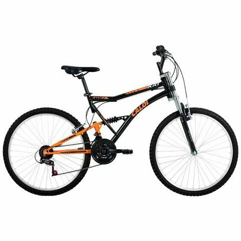 Bicicleta Caloi XRT 21v Full Suspension
