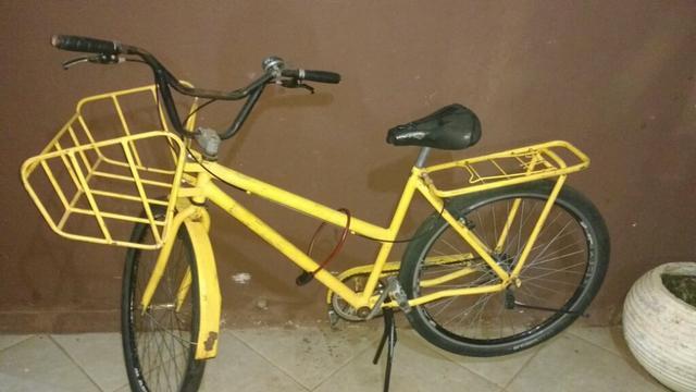 Bicicleta excelente pra venda.de salgados.produtos