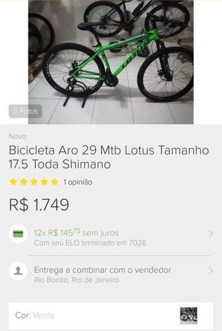 Bike lotus aro 29