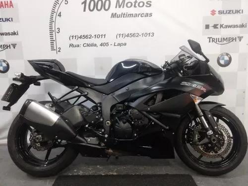 Kawasaki Ninja Zx 6 R 2012 Otimo Estado Aceito Moto