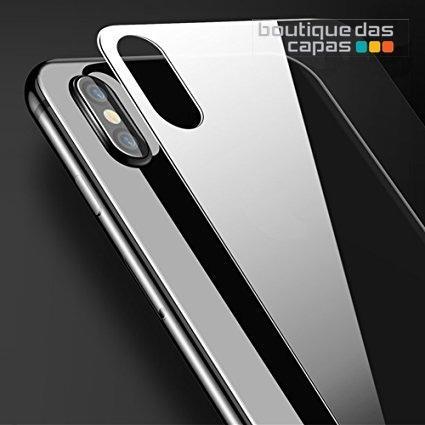 Película Protetora de vidro Para fundo verso Iphone X 10