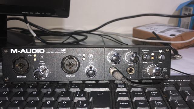 Placa m Audio 610
