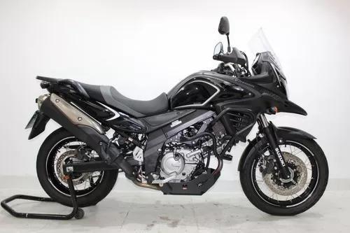 Suzuki V Strom 650 Xt Abs 2018 Preto