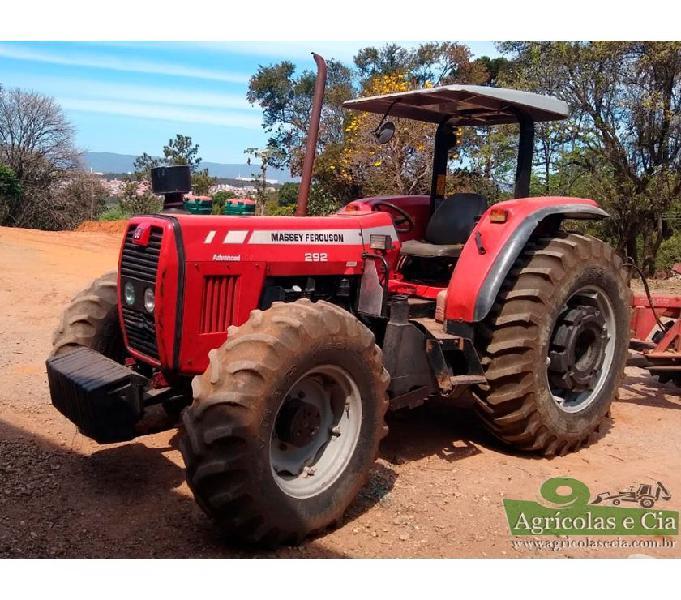 Trator Massey Ferguson 292 4x4 Advance (Todo Original!)