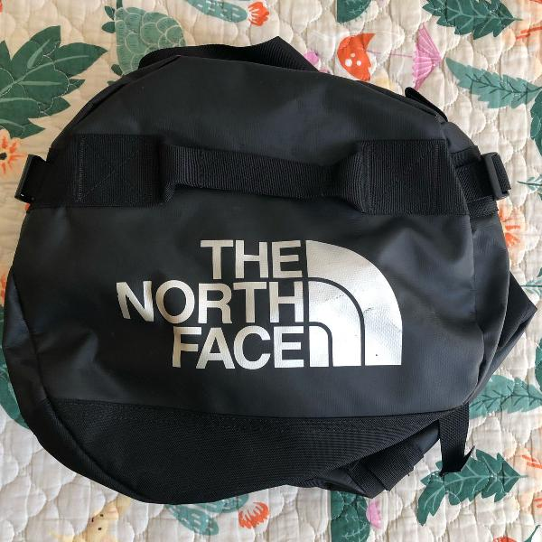 duffel north face preta