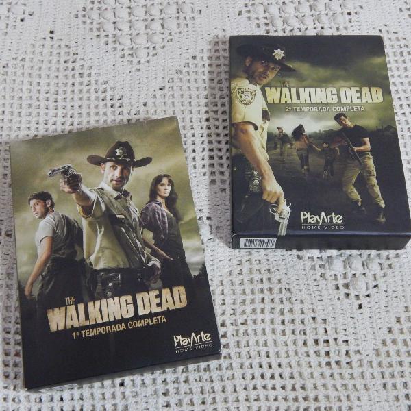 Box The Walking Dead 1ª e 2ª Temporadas
