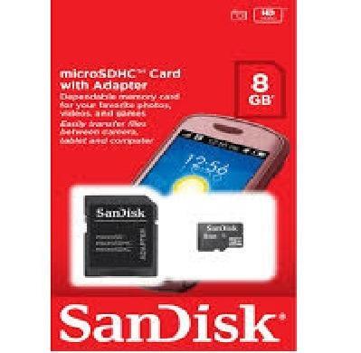 Cartão de Memória Micro Sd 8gb Lacrado Original Pronta