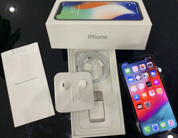 IPhone X de 256gb (bateria 100%) Apple celular (LEIA O
