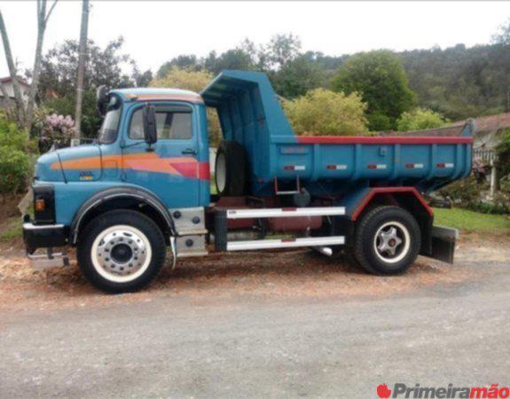 caminhão mb 1313 ano 1980 caçamba 14.99747.1027