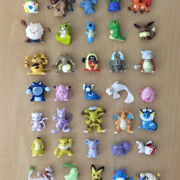 coleção completa miniaturas pokémon guaraná