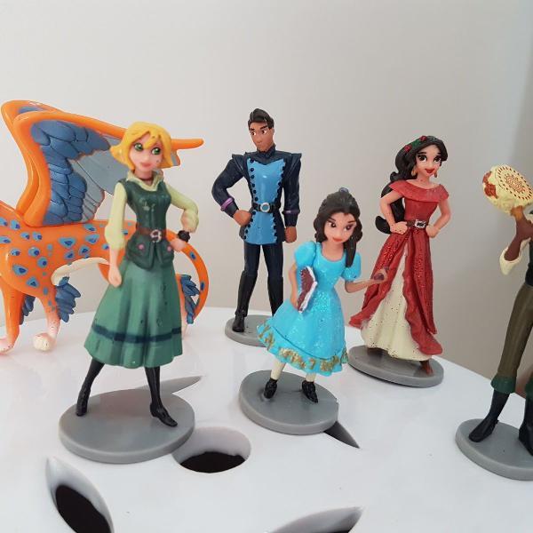 g-026 adorogeek kit 6 personagens princesa elena de avalor