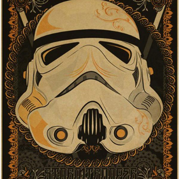 g-127 pôster star wars stormtrooper 40 x 30 cm papel