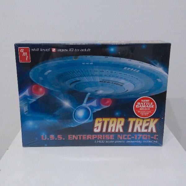 kit de montar maquete star trek enterprise modelo c