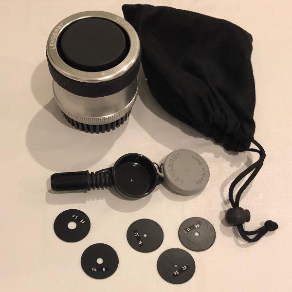 lente olho de peixe - fisheye para canon - pouquíssimo uso