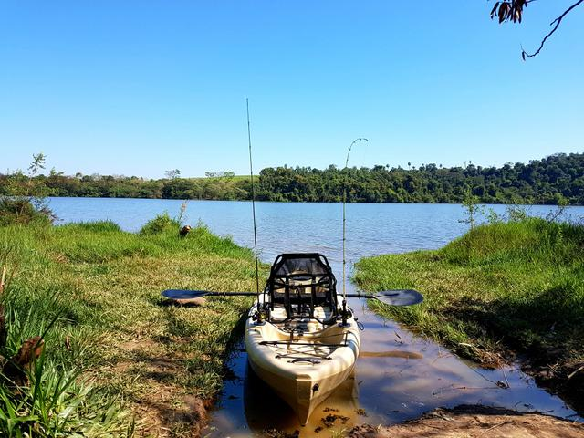 Caiaque de Pesca Caiman 100 Hidro 2 Eko! preço bom pra sair