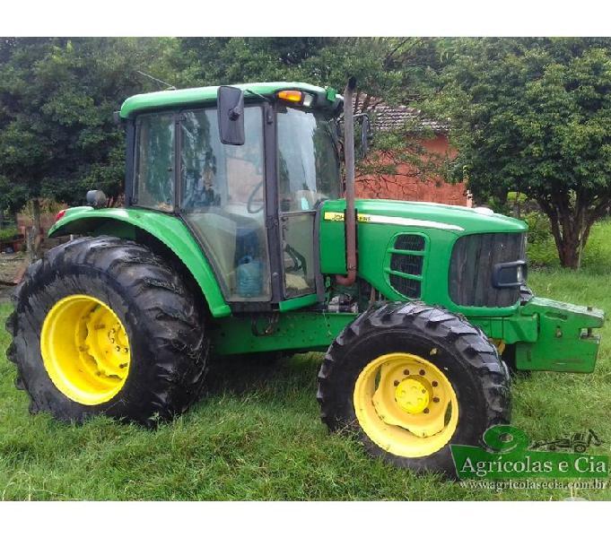Trator John Deere 6110 J 4x4 (Power Quad - Todo Original!)